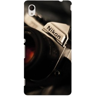 G.store Printed Back Covers for Sony Xperia M4 Aqua  Black 46109