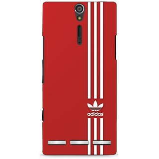 G.store Printed Back Covers for Sony Xperia S Red 46332