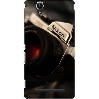 G.store Printed Back Covers for Sony Xperia T2 Ultra Black 46509