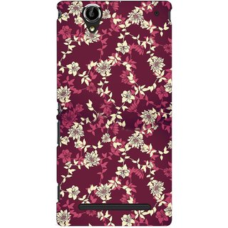 G.store Printed Back Covers for Sony Xperia T2 Ultra Multi 46535