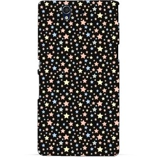 G.store Printed Back Covers for Sony Xperia Z Black 46771