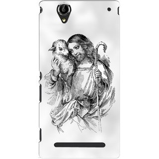 G.store Printed Back Covers for Sony Xperia T2 Ultra White 46600