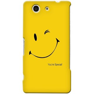 G.store Printed Back Covers for Sony Xperia Z4 Compact Yellow 47247