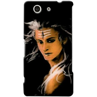 G.store Printed Back Covers for Sony Xperia Z4 Compact Black 47280