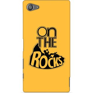 G.store Printed Back Covers for Sony Xperia Z5 Compact Yellow 47420