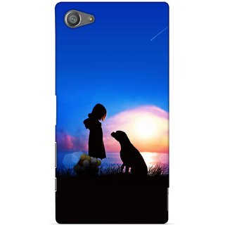 G.store Printed Back Covers for Sony Xperia Z5 Compact Blue 29266
