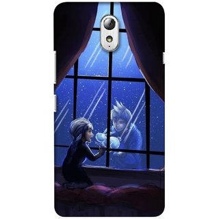 G.store Printed Back Covers for Lenovo Vibe P1m Black 34972
