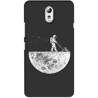 G.store Printed Back Covers for Lenovo Vibe P1m Grey 34976