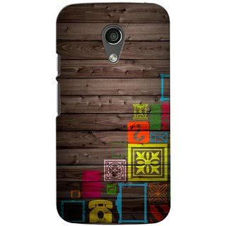G.store Printed Back Covers for Motorola Moto G (2nd gen) Multi 39598
