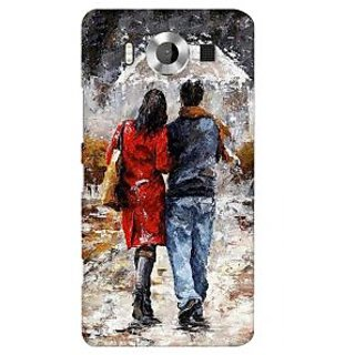 G.store Printed Back Covers for Microsoft Lumia 950 Multi 38962