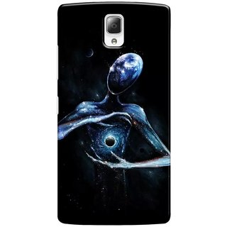 G.store Printed Back Covers for Lenovo a2010 Black 34113
