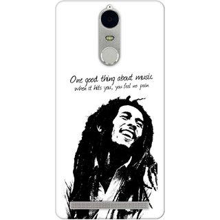 G.store Hard Back Case Cover For Lenovo K5 Note 49861