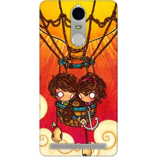 G.store Hard Back Case Cover For Lenovo K5 Note 49867