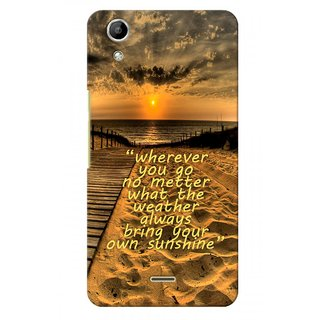 G.store Hard Back Case Cover For Micromax Canvas Selfie 2 Q340 51026