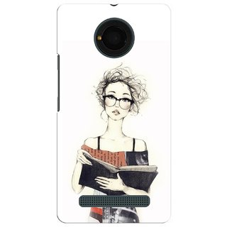 G.store Hard Back Case Cover For Micromax Yu Yunique 51242