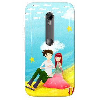 G.store Hard Back Case Cover For Motorola Moto G Turbo Edition 51454