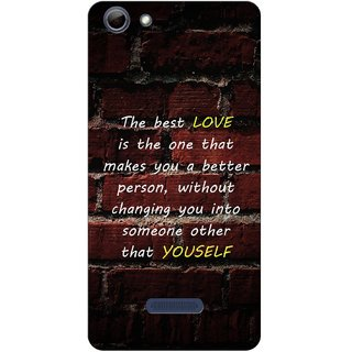 G.store Hard Back Case Cover For Micromax Canvas Selfie 3 Q348 51121