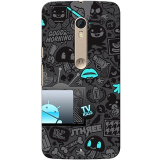 G.store Hard Back Case Cover For Motorola Moto X Style 51625