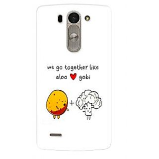 G.store Hard Back Case Cover For LG G3 Beat 57208