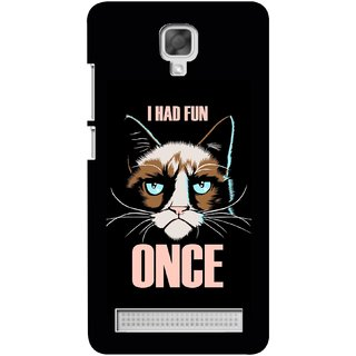 G.store Hard Back Case Cover For Micromax Bolt Q338  58025