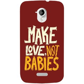 G.store Hard Back Case Cover For Micromax Canvas HD A116 58490