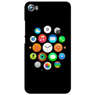 G.store Hard Back Case Cover For Micromax Canvas Fire 4 A107 58361