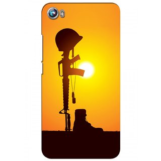 G.store Hard Back Case Cover For Micromax Canvas Fire 4 A107 58366