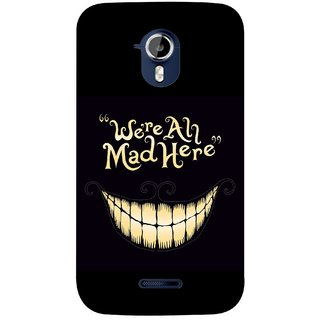 G.store Hard Back Case Cover For Micromax Canvas HD A117 58574