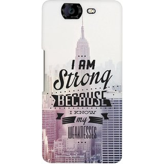G.store Hard Back Case Cover For Micromax Canvas Knight A350 58819