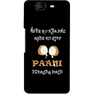 G.store Hard Back Case Cover For Micromax Canvas Knight A350 58894