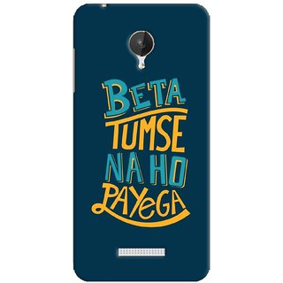 G.store Hard Back Case Cover For Micromax Canvas Spark Q380 59541