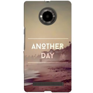 G.store Hard Back Case Cover For Micromax YU Yuphoria 59967
