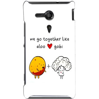 G.store Hard Back Case Cover For Sony Xperia SP 67108
