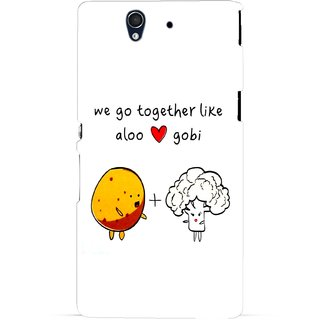 G.store Hard Back Case Cover For Sony Xperia Z  67408
