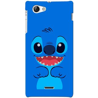 G.store Hard Back Case Cover For Sony Xperia J 66779