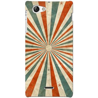 G.store Hard Back Case Cover For Sony Xperia J 66780