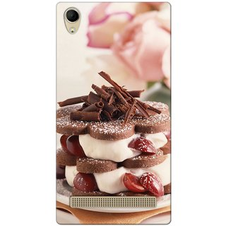 G.store Hard Back Case Cover For Intex Aqua Power Plus 49658