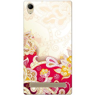 G.store Hard Back Case Cover For Intex Aqua Power Plus 49690