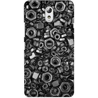 G.store Hard Back Case Cover For Lenovo Vibe P1m 56809