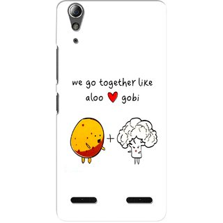 G.store Hard Back Case Cover For Lenovo A6000 Plus 56308