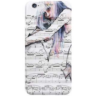 The Fappy Store Waiting Place On Music Sheet I Phone 6S Back Covers