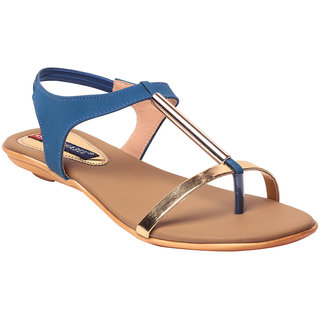 MSC Women's Blue Flats