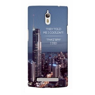 G.store Printed Back Covers for Oppo Find 7  Multi 40837