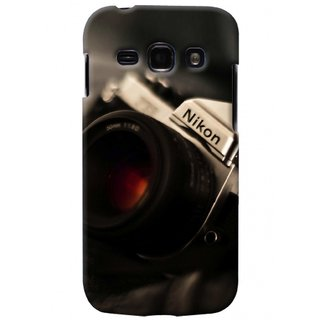 G.store Printed Back Covers for Samsung Galaxy A3 Black 41309