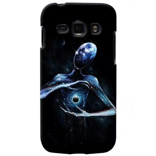 G.store Printed Back Covers for Samsung Galaxy A3 Black 41313