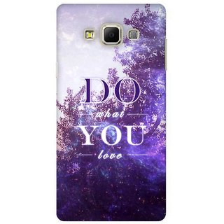 G.store Printed Back Covers for Samsung Galaxy A7 Multi 41524