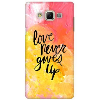 G.store Printed Back Covers for Samsung Galaxy A7 Multi 41528