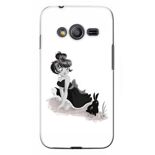 G.store Printed Back Covers for Samsung Galaxy Ace 3 White 41745