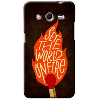 G.store Printed Back Covers for Samsung Galaxy Core 2 Multi 42065