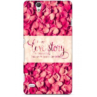 G.store Printed Back Covers for Sony Xperia C4 Red 45618